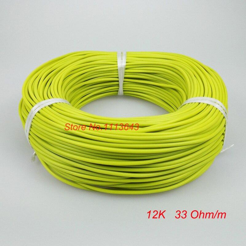 12 Karat Infrarot Fußbodenheizung Kabel System Kohlefaser ...
