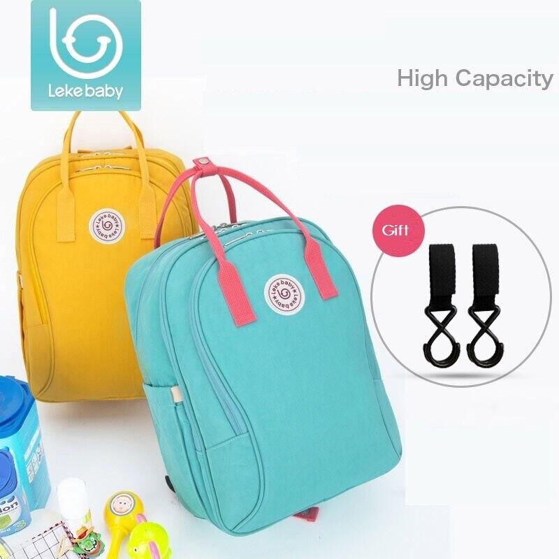 Lekebaby luiertas baby travel mom maternity changing nappy diaper bag backpack bags bolsa mochila maternidade mochila de fralda