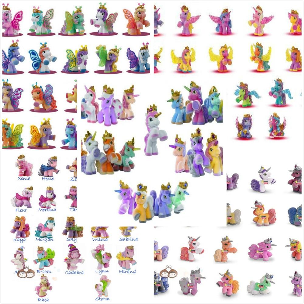 5CM Många stilar Simba Filly Little Horse Witchy Butterfly Stjärnor - Toy figuriner