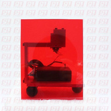 Laser Protection window for 532nm Nd: YAG Green Lasers,Size: 50mmx50mmx5mm Optical Density >4