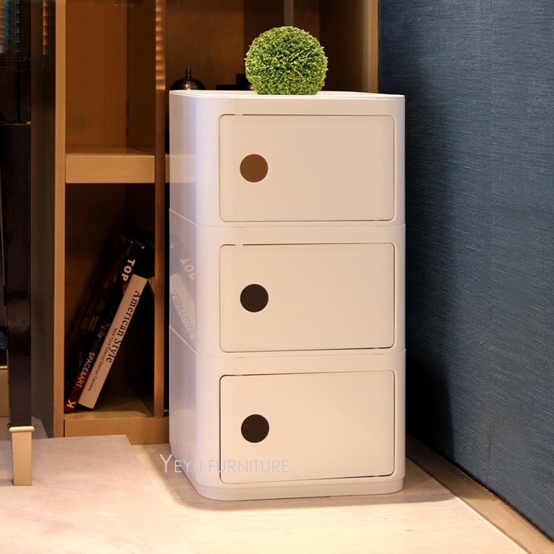 Modern Side Table Designs With Drawers.Us 199 0 Minimalist Creative Modern Design Classic Plastic Square Storage Cabinets Square Bedside Table Fashion Loft Design Side Table In Living