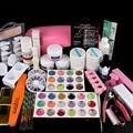 Professional Full Set UV Gel Kit Nail Art Set + 9W Curing UV Lamp Dryer Curin NA278+NA467