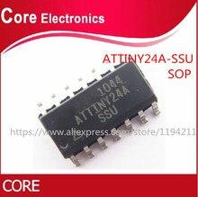 100pcs ATTINY24A SSU SOP 14 ATTINY24 SOP14 ATTINY24A SOP 24A SSU MCU chips