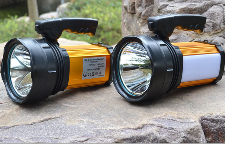 Portable High-power LED Searchlight Gearshift Glare Flashlight For Hunting Fishing Camping glare 30