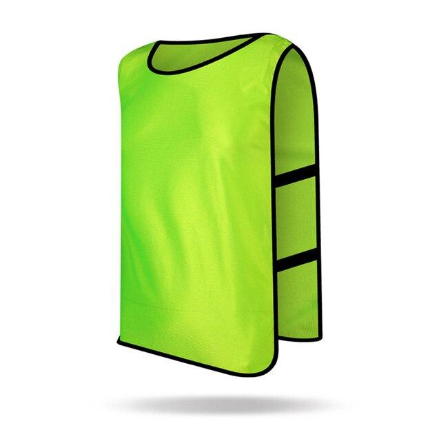 aa3019cb092 Homens sem mangas Crianças Camisas De Futebol de Treinamento de Futebol  Esportes jersey Contra Colete Colete