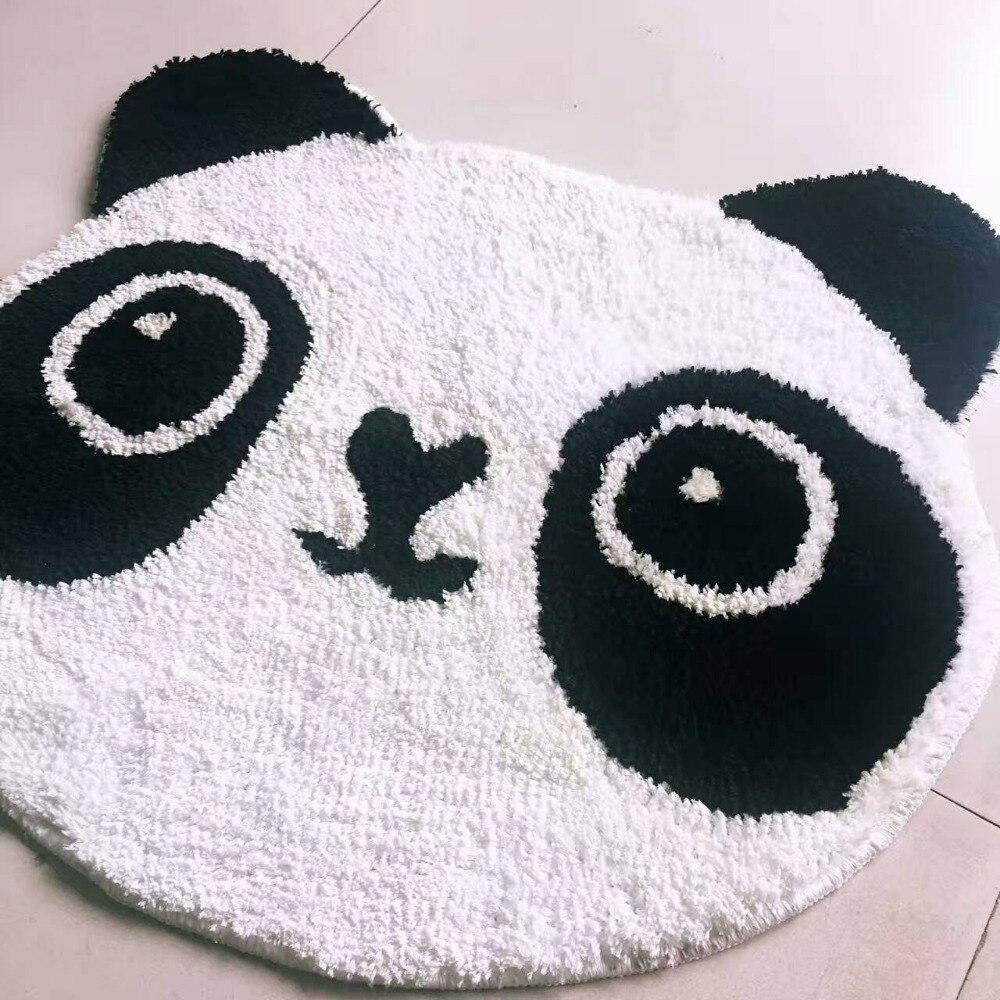 MUZZI chaise ronde en peau de mouton housse de siège tapis doux poilu peau unie fourrure plaine moelleux tapis chambre Faux tapis 006