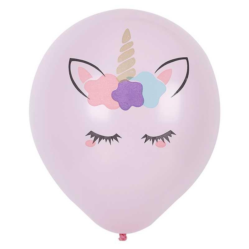 2019 10 piezas fiesta de cumpleaños globos de látex unicornio fiesta suministros unicornio decoración cumpleaños bebé fiesta suministros