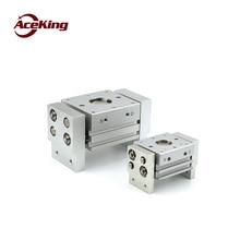 SMC-type profile wide pneumatic finger grip MHL2-10d/16d/20d/25d/32d/40d1/d2 large-diameter clamping cylinder