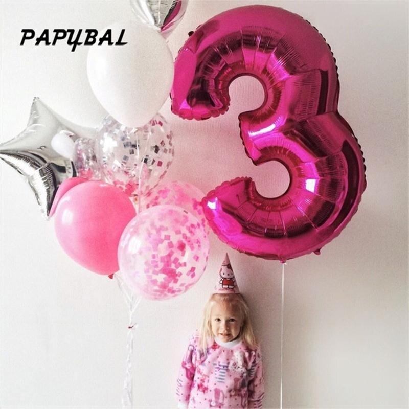 "20 X 8th Globos De Cumpleaños Chica /""hoy 8 Globos de cumpleaños/"" Rosa Mix PA"