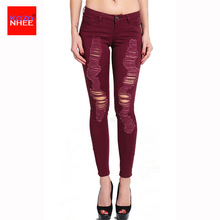 Thin Stretching Skinny High Waist Jeans Women Elastic Push Up Pencil Jeans Trousers For Women Jeans For Girls