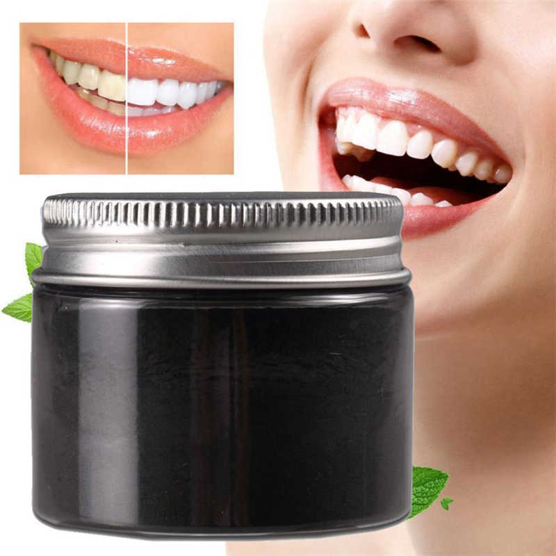 1 Box 25g Bamboo Charcoal Toothpaste Teeth Whitening Remove Halitosis Plaque Dentifrice Bamboo charcoal  Tooth powder dental