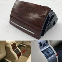 Для VW Passat Lingyu drive link пепельница подлокотник коробка Задняя пепельница цилиндр вишневая деревянная сетка задний ряд пепельница 3BD 857 961 B