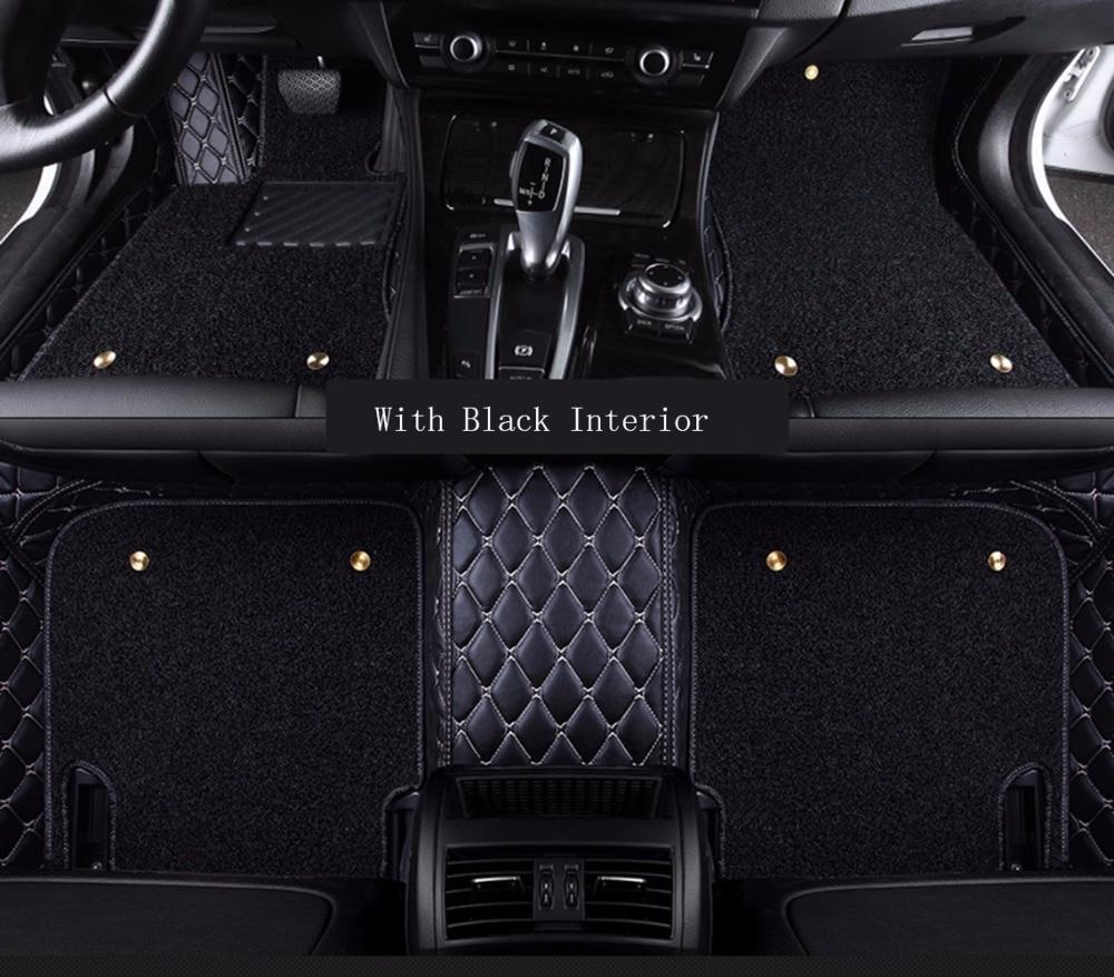 Floor mats jeep cherokee 2015 - Topmats Double Layer Floor Mats For Jeep Cherokee 2014 2017 Leather 3d Floor Mats Suv