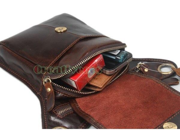 da motocicleta ombro homensageiro bloco Composição : High Grade Cowhide Genuine Leather