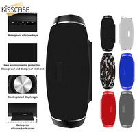 KISSCASE Portable Outdoor Waterproof Wireless Bluetooth 4.2 Speaker Stereo Connection Via Radio Channel High Quality Speaker