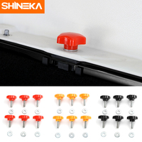 SHINEKA Car Hard Top Quick Removal Fastener Thumb Screw And Nut Kit For 2 DOOR Jeep