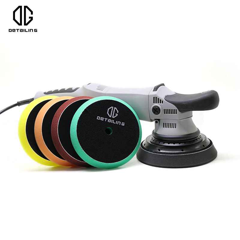 DETAILING Top Sale 150mm Germany Foam Buffing Pad Sponge Polishing Pad Kit Car Polisher Pad For 5inch Auto Polisher