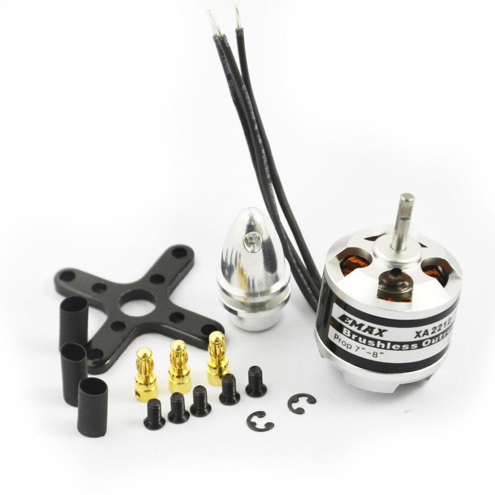 все цены на EMAX Motor ESC Set 30A Simonk ESC Speed Contrller & XA2212 Brushless Motor with accessory 820KV/980KV/1400KV Optional онлайн