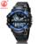 Banda de Plástico Relógio Digital LED relógios de Pulso de Quartzo OHSEN Homens Esportes Militar Relógios À Prova D' Água Relógios Relogio masculino AS09