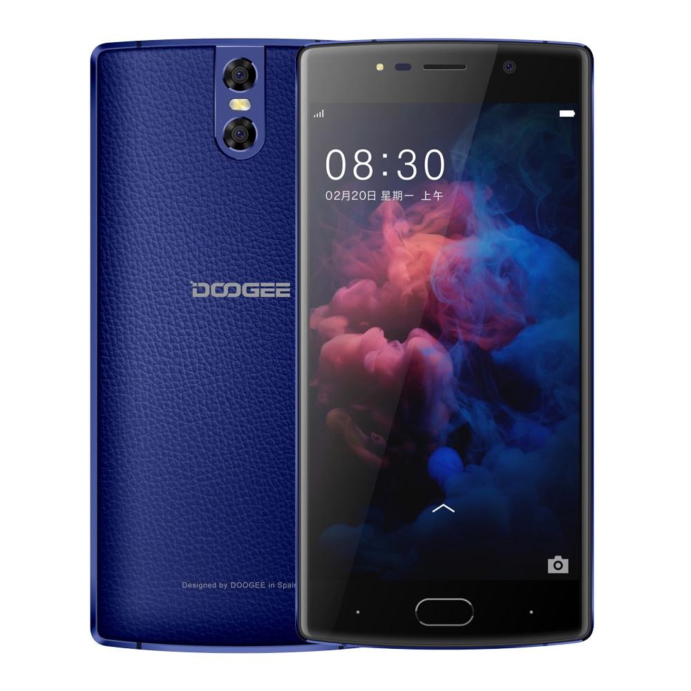 DOOGEE BL7000 Smartphone Android 7.0 7060mAh 12V 2A 5.5'' FHD MTK6750T Octa Core 4GB+64GB Fingerprint Dual 13.0MP camera phone