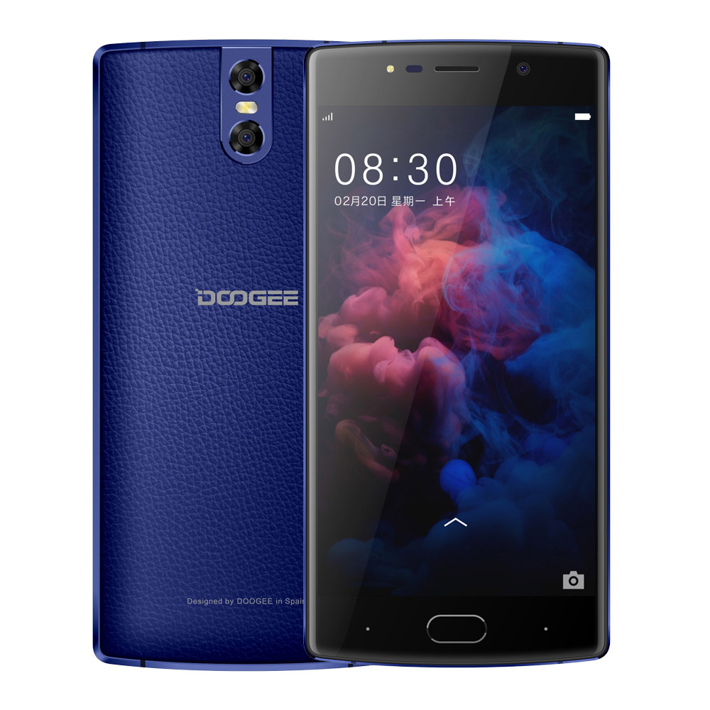 DOOGEE BL7000 Smartphone Android 7.0 7060mAh 12V 2A 5.5'' FHD MTK6750T Octa Core 4GB+64GB Fingerprint Dual 13.0MP camera phone