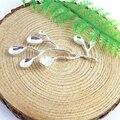 6 unids/pack Ramas de los Árboles de Plata Al Por Mayor de Los Encantos de Cobre Material de La Joyería Encantos Lote Caliente Pulsera Collar Colgante 51382
