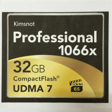 Kimsnot Professional CF Card 16GB 32GB 64GB 128GB 256GB Memory Card Compact Flash 1066x High Speed 160Mb/s UDMA 7