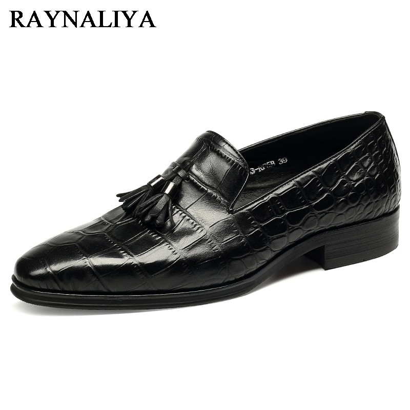 New 2018 Fashion Men Dress Shoes Leather Pointed Toe Classic Black Business Mens Shoes Chaussures Hommes En Cuir YJ-B0027 choudory new winter men ankle italian shoes men leather shoes pointed toe mens black dress shoes sequined toe spiked loafers men