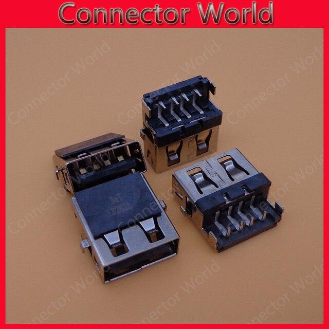 Connecteur USB pour Lenovo E46A, E46L, HP G4 G6 G7, Samsung etc, 15 pièces/lot, Interface USB 2.0