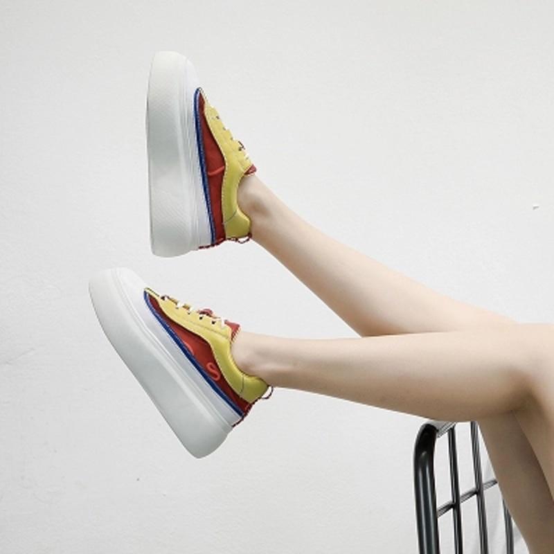 Ins Aumentar Nueva Malla Bottom De Super Mujer amarillo Azul Coreana Zapatos Fuego 100 L Thick Toma Verano Loosecake Versión Transpirable 2018 Superficie gZq7wFnTY