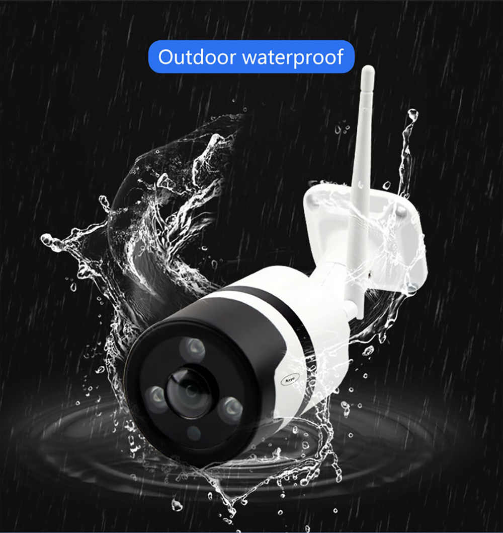 3MP HD كاميرا مراقبة للمنزل ذكي إنذار كشف الحركة واي فاي كاميرا واي فاي المنزل في الهواء الطلق كاميرا مصغرة IP كاميرا في الهواء الطلق
