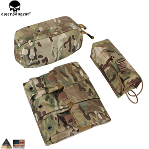 Image 5 - EMERSONGEAR LBT Tactical Weste Mit Mag Pouch Molle Chest Rig Weste Airsoft Paintball Military Armee Kampf Weste Multicam EM7440