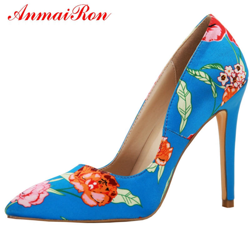 Talons À Minces Taille 2018 Hauts Blue Nouvelle 34 Ly623 Pompes Moda Vestir Mode Mujer 39 Pointu Bout Zapatos De Anmairon ZqIYw4ntt