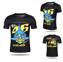 Бесплатная доставка 2017 Новый Валентино Росси VR46 Доктор Moto GP быстросохнущие Джерси футболка