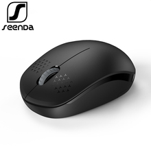 SeenDa 2 4GHz USB Wireless font b Mouse b font Portable Office Mute font b Mice