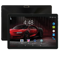 10 Inch Android Tablet 4GB RAM 64GB ROM Google Android 7.0 Nought Dual Camera WiFi 1280x800 IPS 2.5D 3G 4G FDD LTE GPS Tablet 10