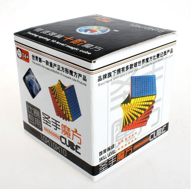 S hengshou 102มิลลิเมตร10x10x10 Cube 10*10บิดปริศนาการศึกษา-ใน ลูกบาศก์มหัศจรรย์ จาก ของเล่นและงานอดิเรก บน   3