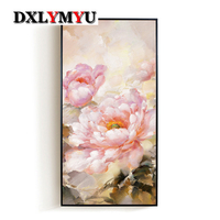 New 5d Full Diamond Embroidery Kits Cross Stitch Flower Home Decor Diamond Painting Mosaic Diy Picture