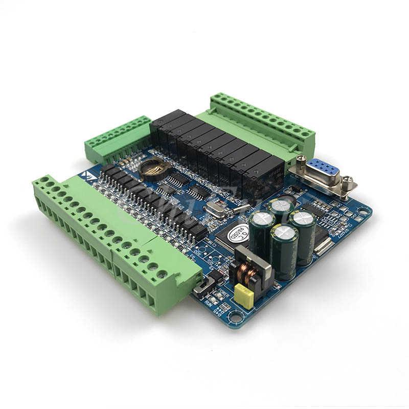 FX3U-24MR 6AD 2DA عالية السرعة PLC لوحة تحكم الصناعية مع 485 الاتصالات و RTC