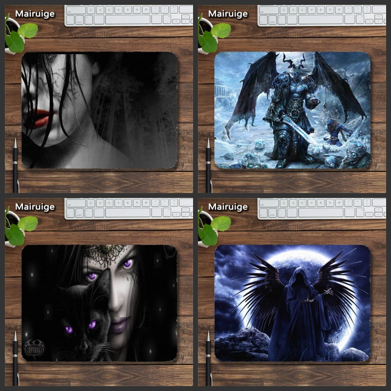 Mairuige Demon Mousepad Frostmourne Vampire Pattern Notbook ComputerMice Diy Mouse Laptops Gaming Mat PadMouse Rubber Tables Mat