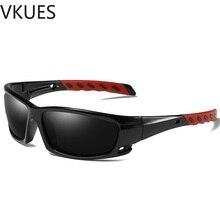 VKUES Sunglasses Men Women Polarized Sports Sun Glasses Fashion Windproof Anti Glare UV400 Cyclists  Outdoor Goggles