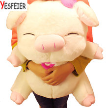 drop shipping on sale Lovely angel pig doll plush toy 40 cm cloth doll pig pillow dolls lovers  Christmas gift  new arrived