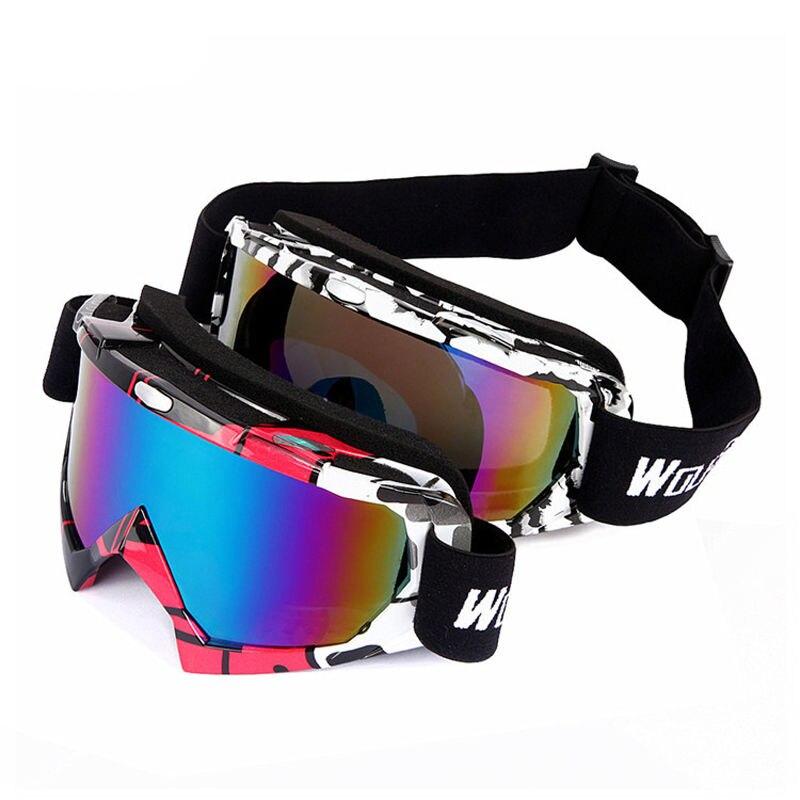 Protección UV de Esquí Snowboard Skate Goggles Motocicleta Off-Road Ciclismo Gaf