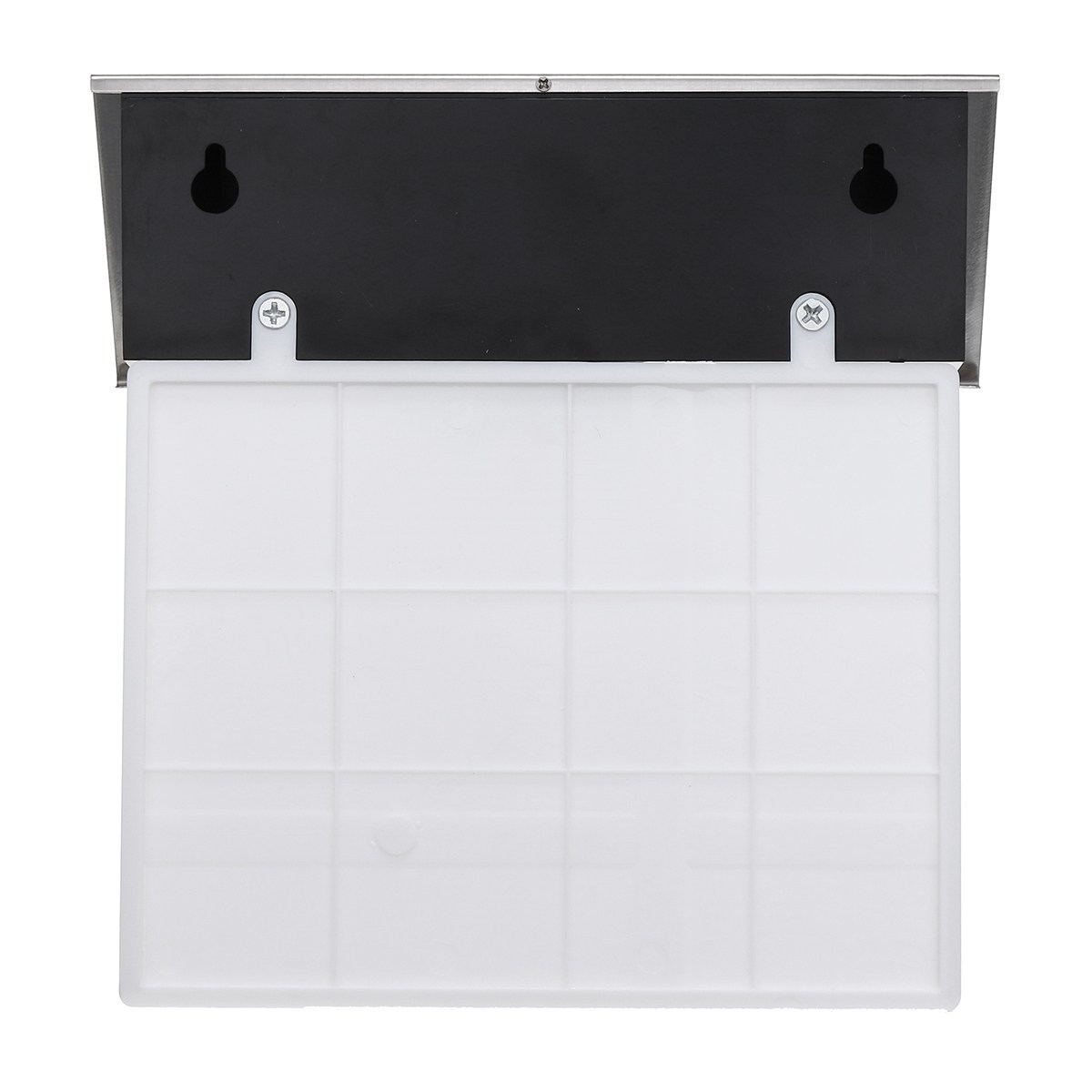 Waterproof Address Plaques LED Solar Powered Light Stainless Steel LED Porch Light Letter Number Paster