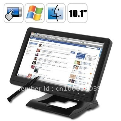 "lilliput UM-1010/C/T 10.1"" USB Powered/Input 4-Wire Resistive Touch Screen LCD Monitor 16:9 for Desktop & Laptop PC"