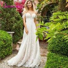 leiyinxiang Bride Dress Wedding Dress A-line V-neck