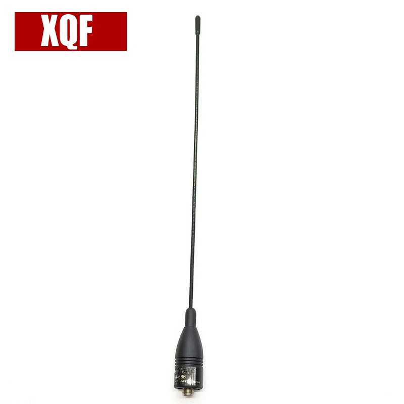 XQF Antenna NA-666 SMA-F 144/430Mhz Dual Band High Gain Antenna 100% New, Factory Packed And Never Been Used