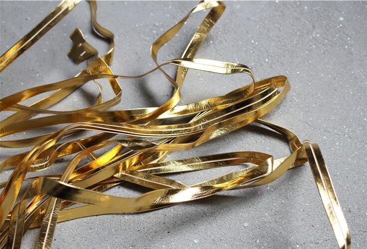 0 6mm Auxiliaries for DIY Decorative Accessories of Heavy Leather Strip Flat Leather Rope with Gold Silver Bright Sense C622 in Fabric from Home Garden