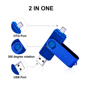 Image 3 - 2 IN 1 Flash Disk 64GB Pen Drive 8GB 4GB 16GB 32GB Pendrives OTG Memory Stick For Android Phone Notebook Laptop PC Dropshipping