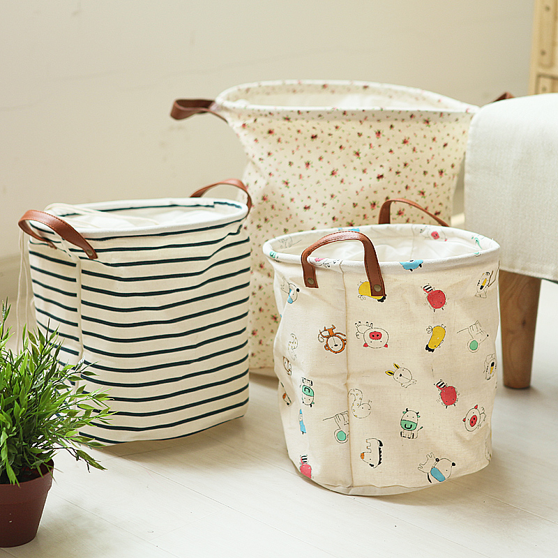 Aliexpress.com : Buy Derlook Japanese Style Cylinder Portable Storage  Bucket Beam Storage Bag Laundry Hamper From Reliable Bag Taiwan Suppliers  On Welcome ...